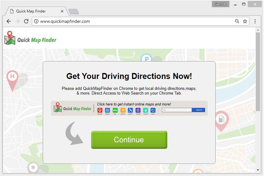 Remove QUICK MAP FINDER Browser Extension Completely (Solved!!!) on