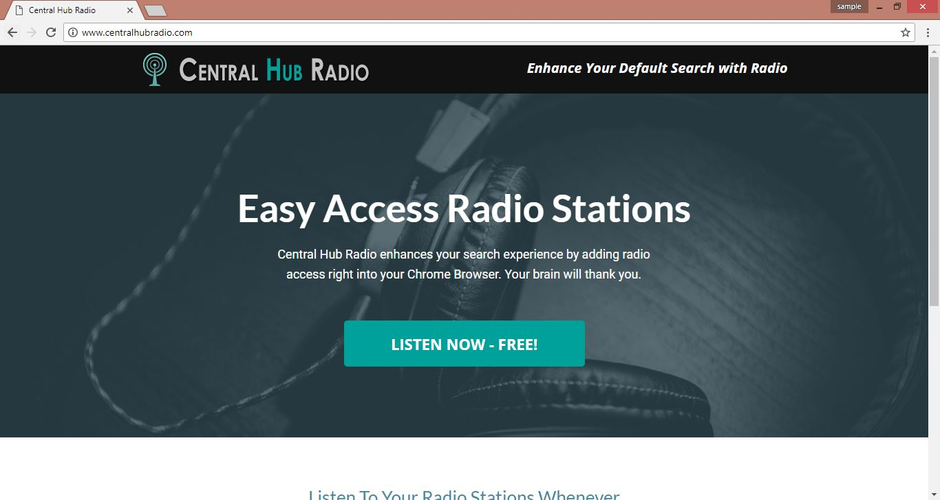 Remove Central Hub Radio Browser Hijacker (Remove Latest PC Threats)