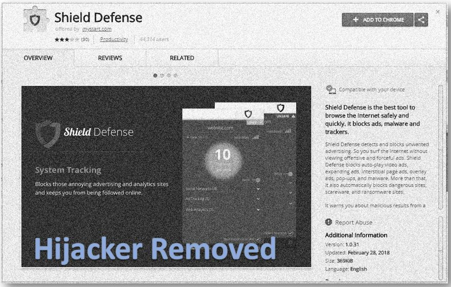 Remove Shield Defense Browser Hijacker Completely (REDIRECT REMOVAL)