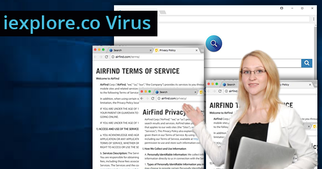 Search.iexplore.co Virus – How To Remove Search.iexplore.co Redirect