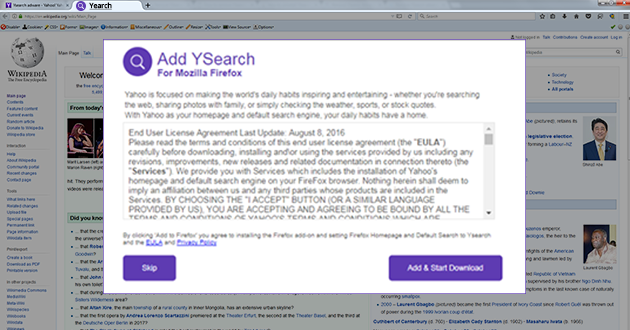 YSearch Tab Virus - Guide To Remove YSearch Adware Virus