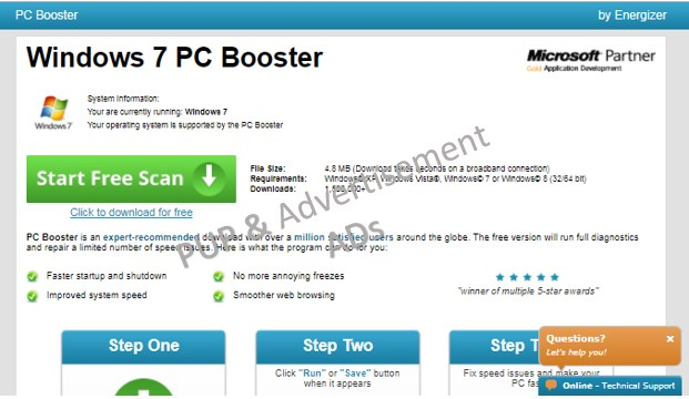 PCBooster.com Ads – How To Remove PCBooster.com Adware From PC