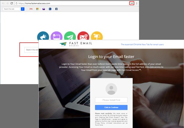 How To Remove Home.fastemailaccess.com Browser Redirect Virus