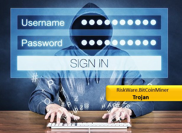 Bitcoin miner how to remove riskwaretcoinminer trojan virus riskware logo ccuart Image collections