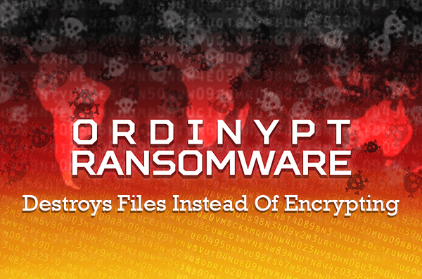 Ordinypt ransomware