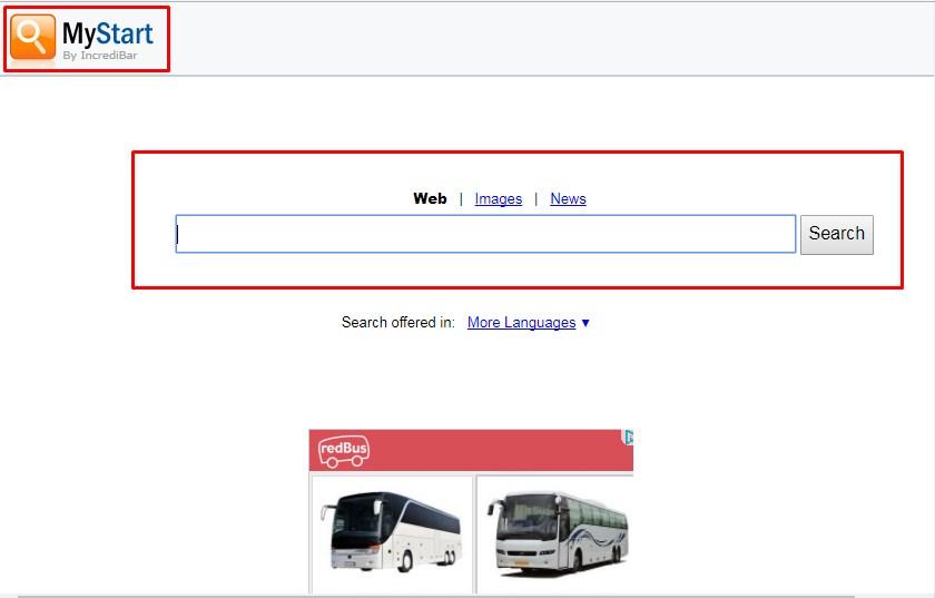 mystart incredibar toolbar