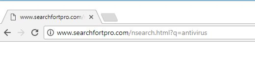 How To Remove Searchfortpro.com Browser Redirect Virus
