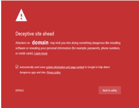 "How To Fix ""Deceptive site ahead"" Security Error on Google Chrome"