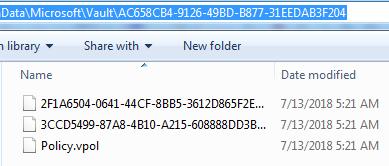 Vault Files