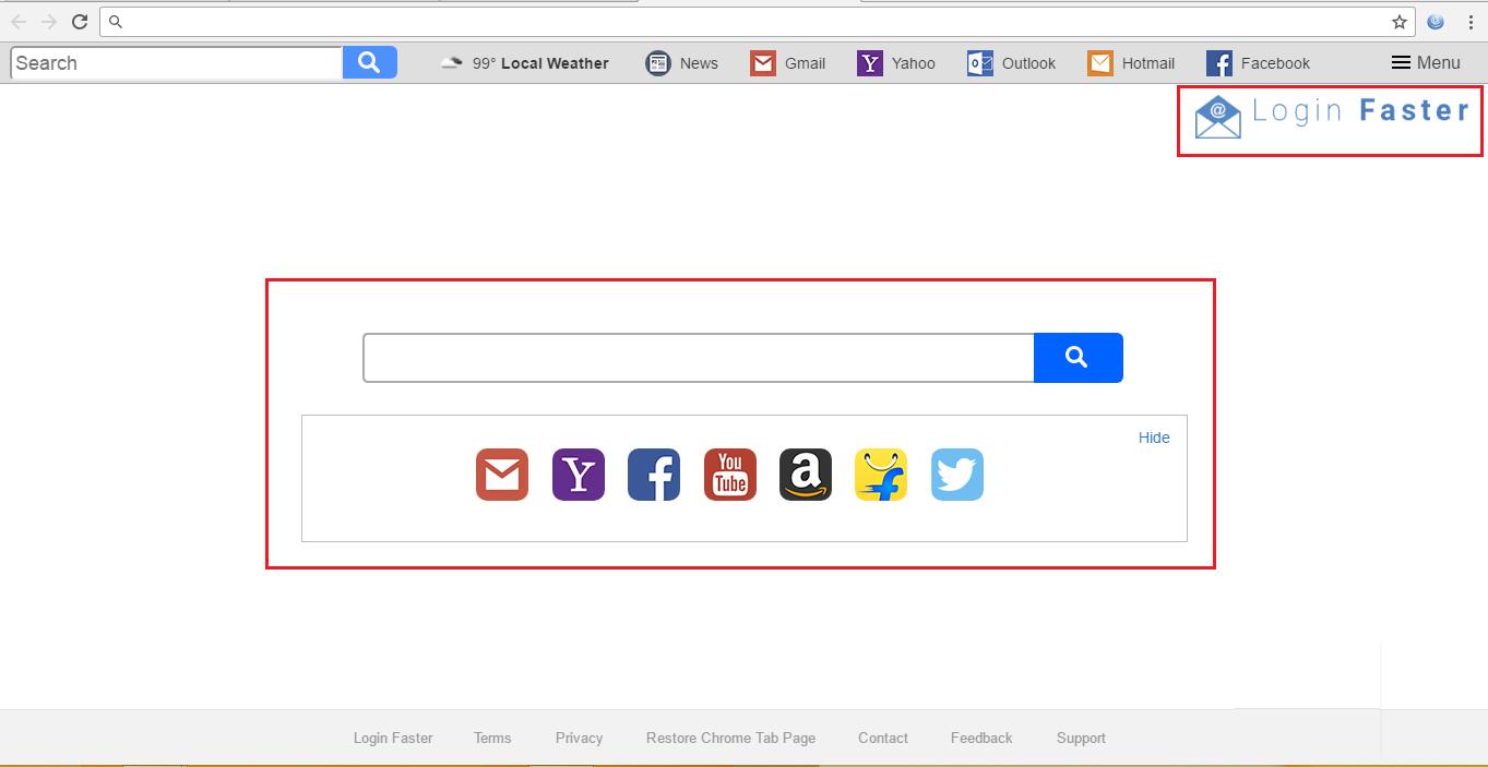 login faster virus