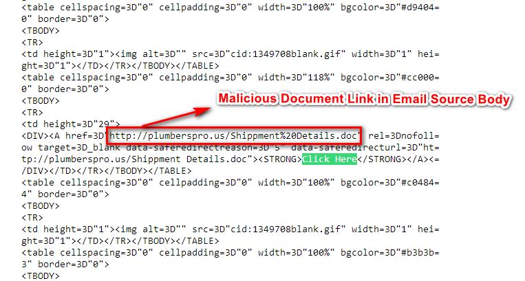 agent tesla email malware orginal