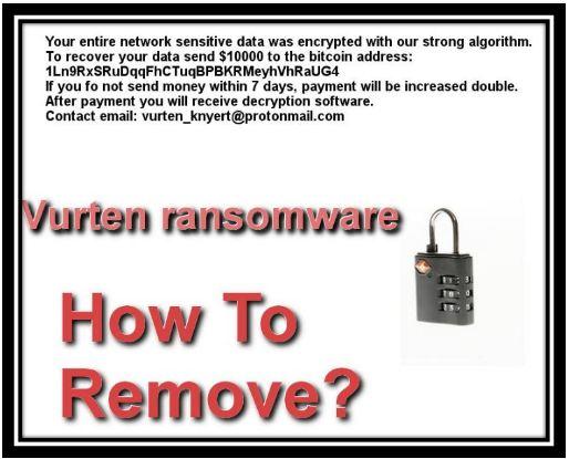 Remove Vurten Ransomware