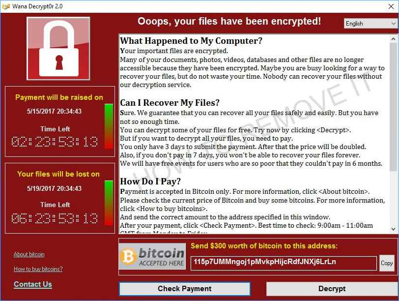 Encrypting ransomware