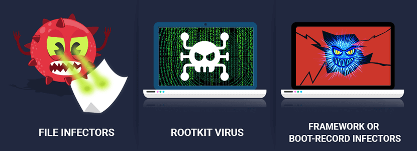 how computer virus is infected
