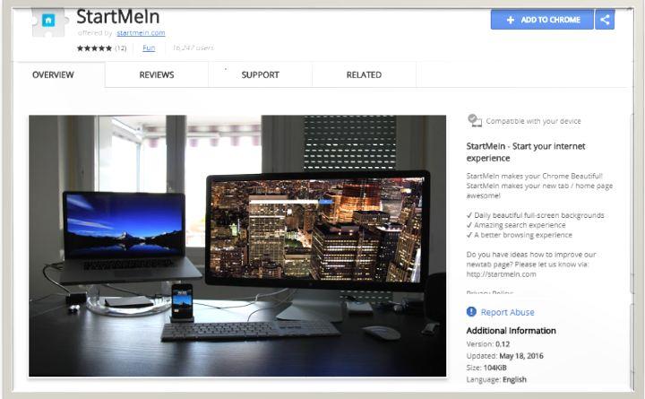 StartMeIn Browser Extension