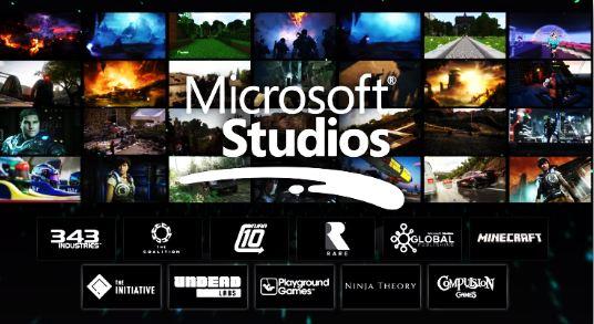 Microsoft Studios Games