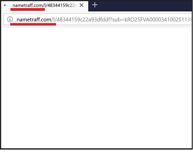 How To Remove Nametraff Com Redirect Virus From Browser