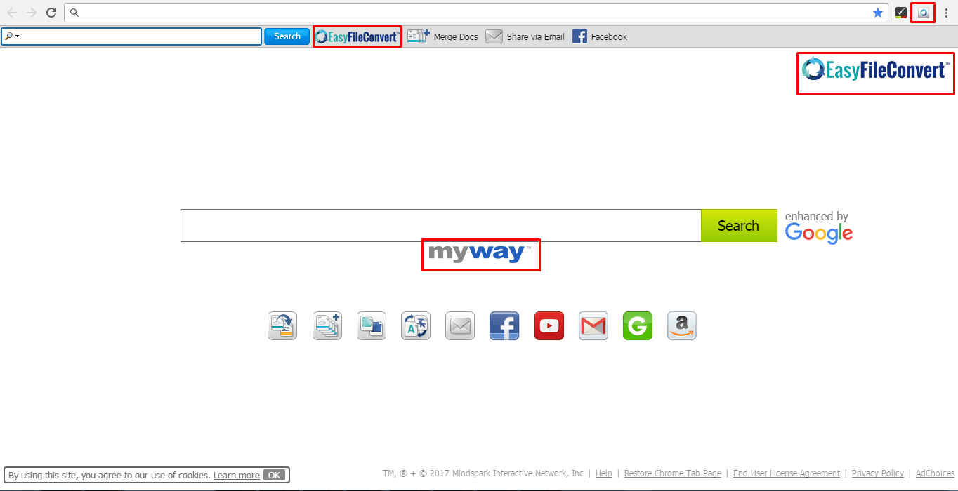 EasyFileConvert Browser Hijacker (Virus) Removal Tool