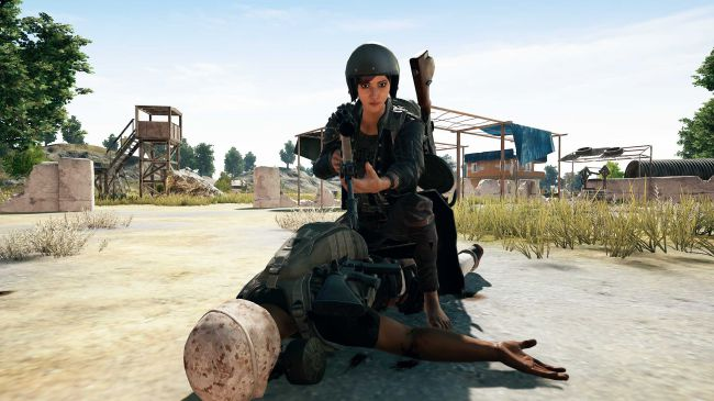 PUBG - player brought back to life