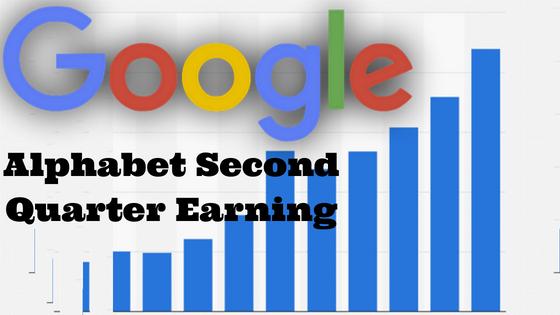 Google's Alphabet Second Quarter Earning   Revenue Q2 2018 Report