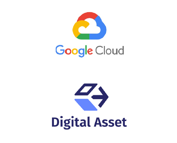 Digital asset will work with Google and help develop blockchain apps