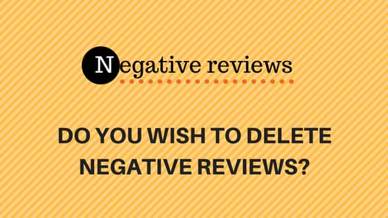 Remove Social Media Reviews