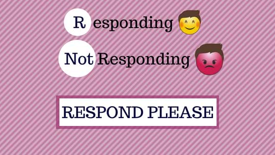 Social Media Responding ?