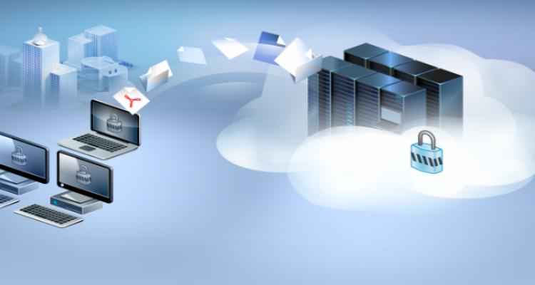 Back up over cloud storage