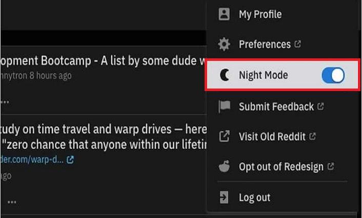 How to enable Reddit dark mode | Reddit night mode feature