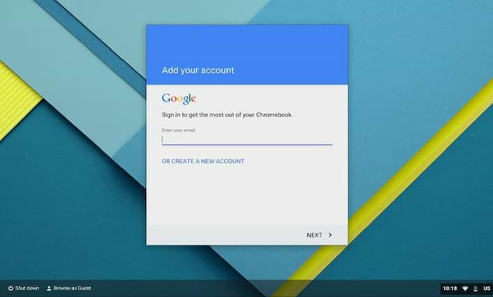 Chromebook Sign-in Guide