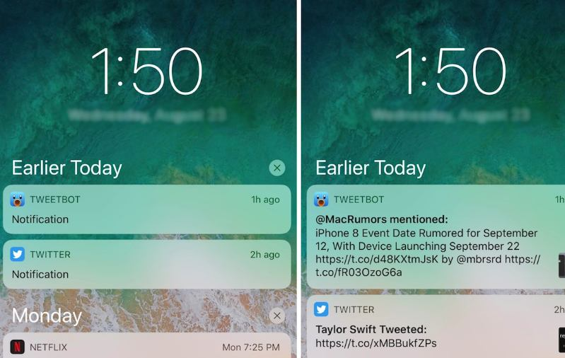 How To Understand and Use New iOS 11 Notification Center