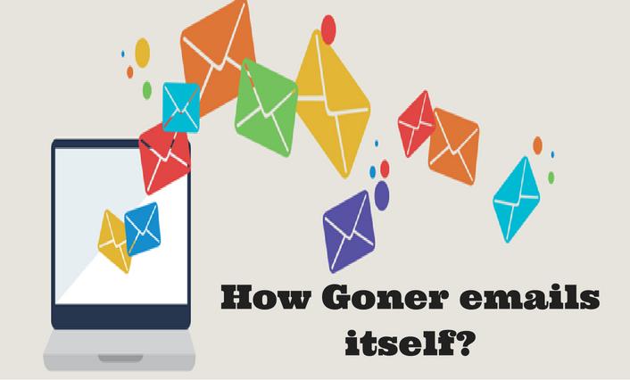 Goner emails itself