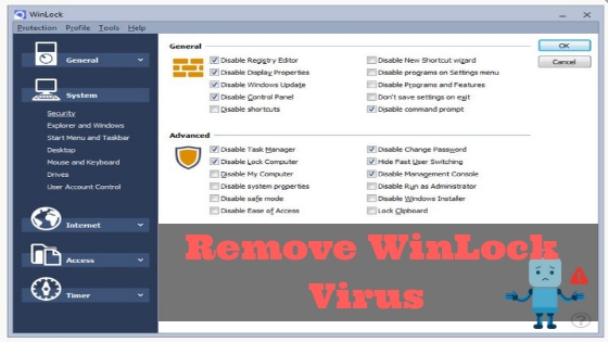 Remove WinLock Virus From Windows In Easy Steps