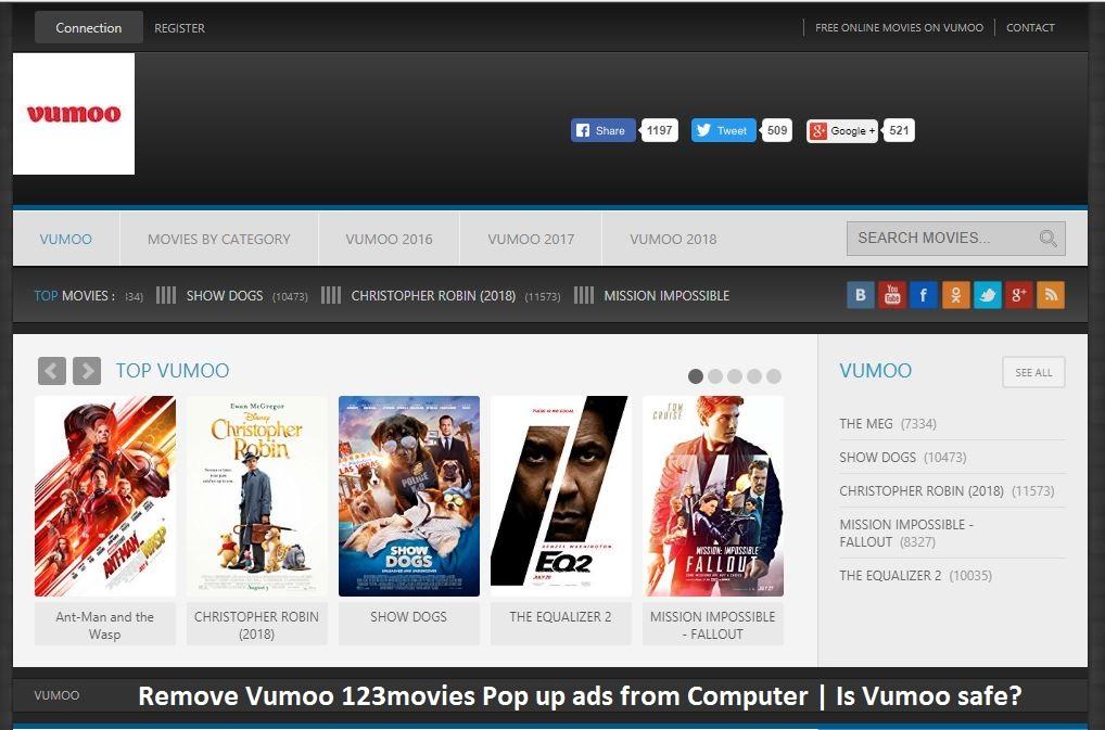 Remove Vumoo 123movies Pop Up Ads From Computer Is Vumoo Safe