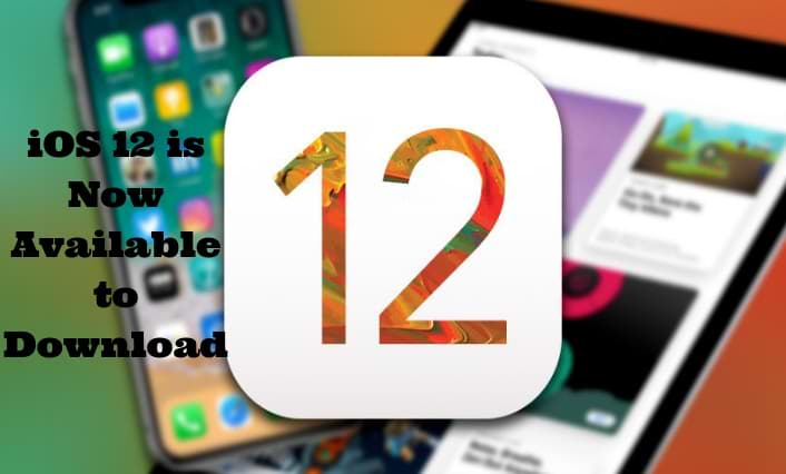 iOS 12 is now available to download