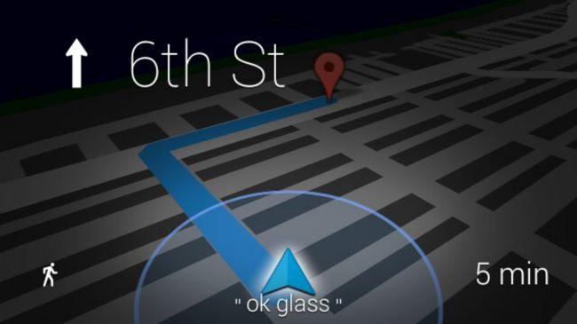 Google Glass GPS Tracking
