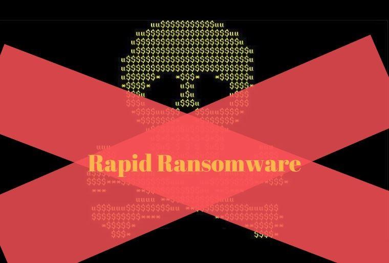 Decrypt Rapid Ransomware - Free Removal Guide | HTRI