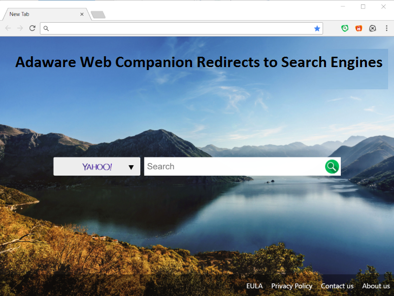Ad Aware Web Companion Browser Redirect
