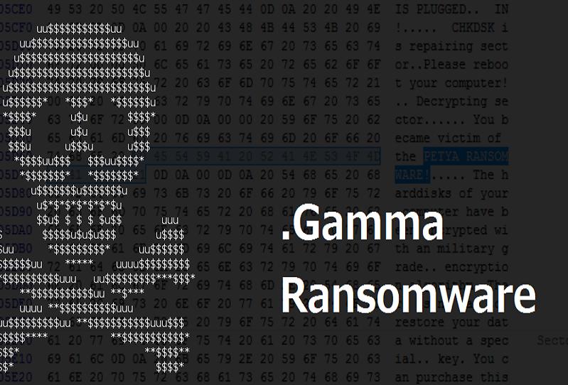 .Gamma Ransomware Removal   Decrypt .Gamma Files Virus
