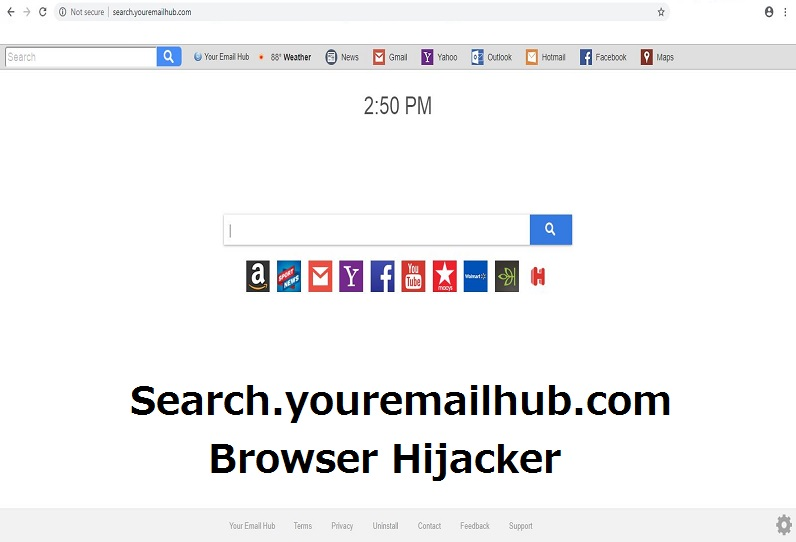 Remove Search youremailhub com Redirect from Chrome
