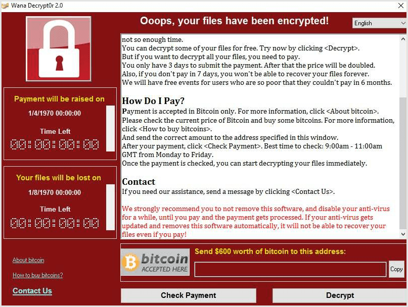 WhyCry Ransomware Removal Tool And Steps