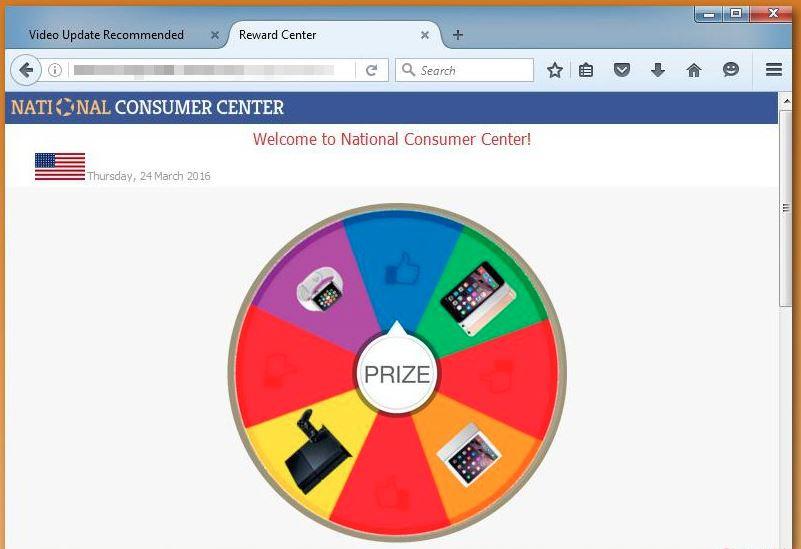 National Consumer Center Adware