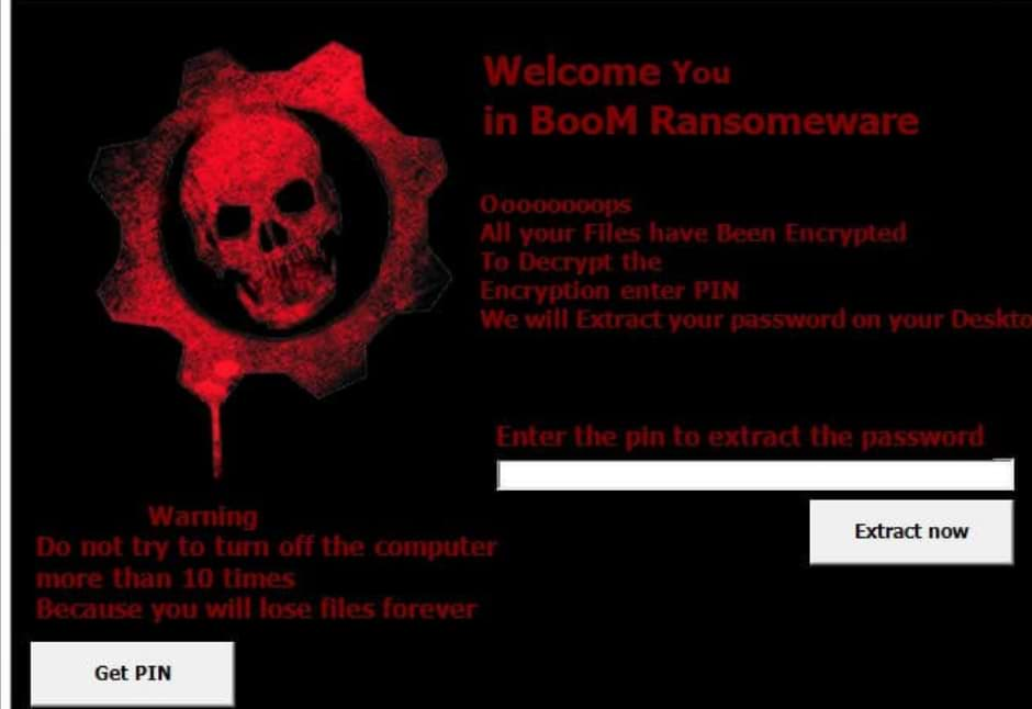 Boom Ransomware – Removal Tool and Prevention Guide