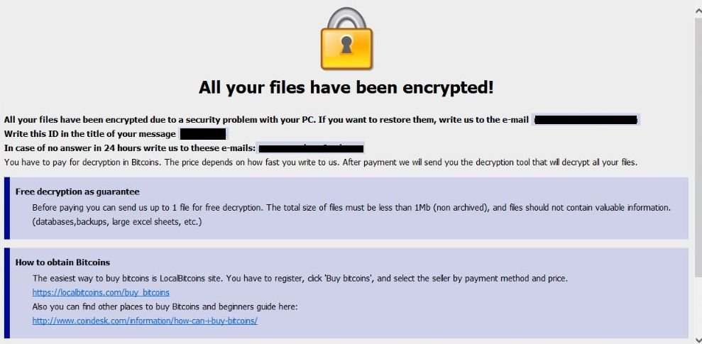 Latest Guide to Remove Decisivekey@tutanota.com AUF Ransomware