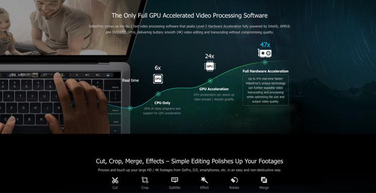 Full GPU Accelerated Video Editing Software