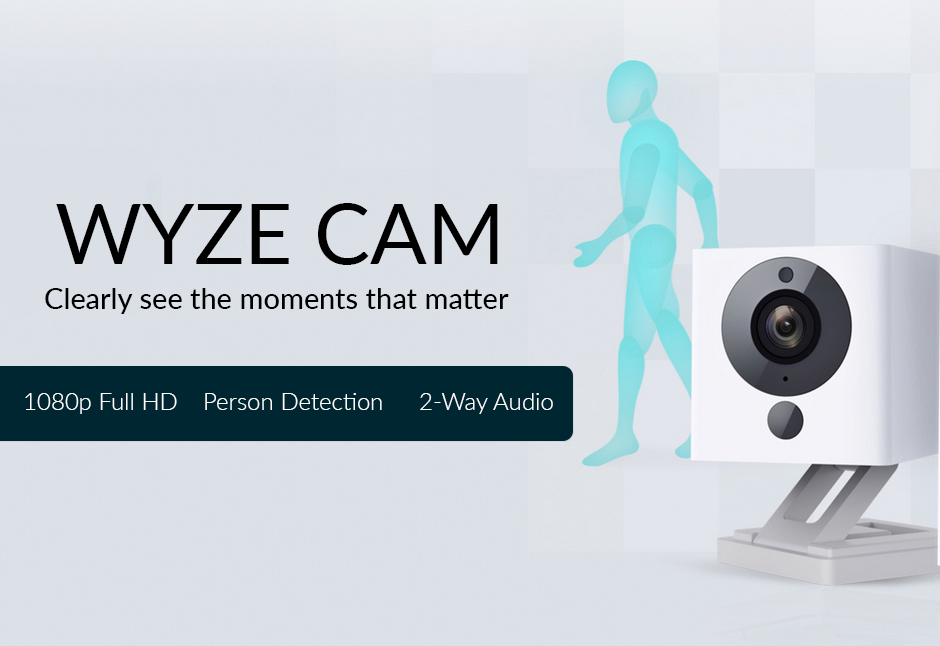WyzeCam: Best Smart Home Security Camera with 1080P HD Live Streaming