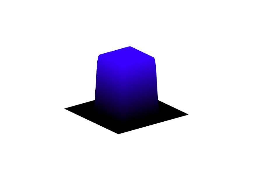 Top Hat Diffractive Beam Shaper